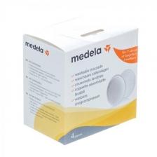 Coussinets d'allaitement lavables - Boîte de 4 Medela