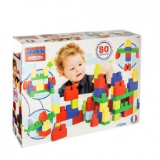 Jeu de construction 80 maxi blocs empilables Ecoiffier