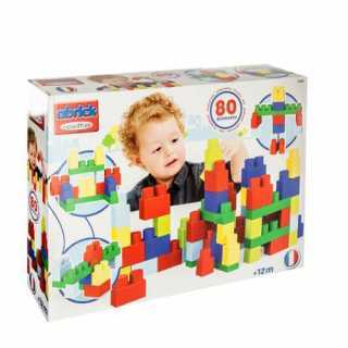 Jeu de construction 80 maxi blocs empilables Ecoiffier