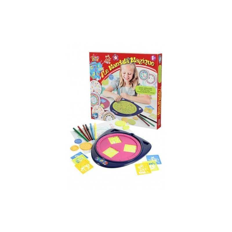 Jouet du Mandala magique avec accessoires de dessin