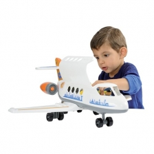Jouet avion enfant avec figurines BeToys