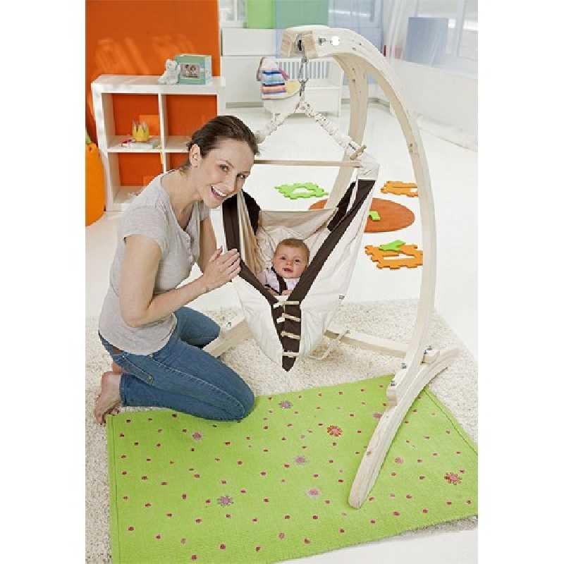 Set hamac bébé Kangoo avec support Carello Amazonas