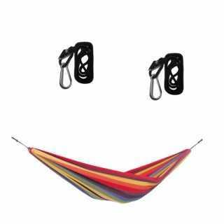 Set hamac bébé Chico rainbow avec 2 smartrops noir Amazonas