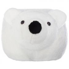 Pouf enfant Ours Blanc Atmosphera