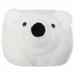 Pouf enfant Ours Blanc Atmosphera