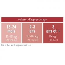 Culotte D'Apprentissage - Blanc - 3+ ans - Bambino Mio