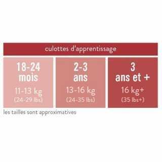 Culotte D'Apprentissage - Bambino Mio - Éléphant Rose -18-24 Mois