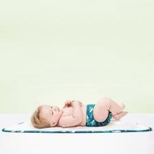 Matelas à langer pour bébé Chat Sauvage 60 x 43 Bambino Mio