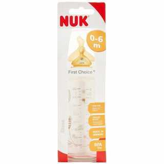 Biberon en verre 240ml First Choice Nuk