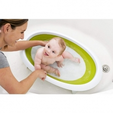 Baignoire Pliable Naked 2 Positions Vert Boon