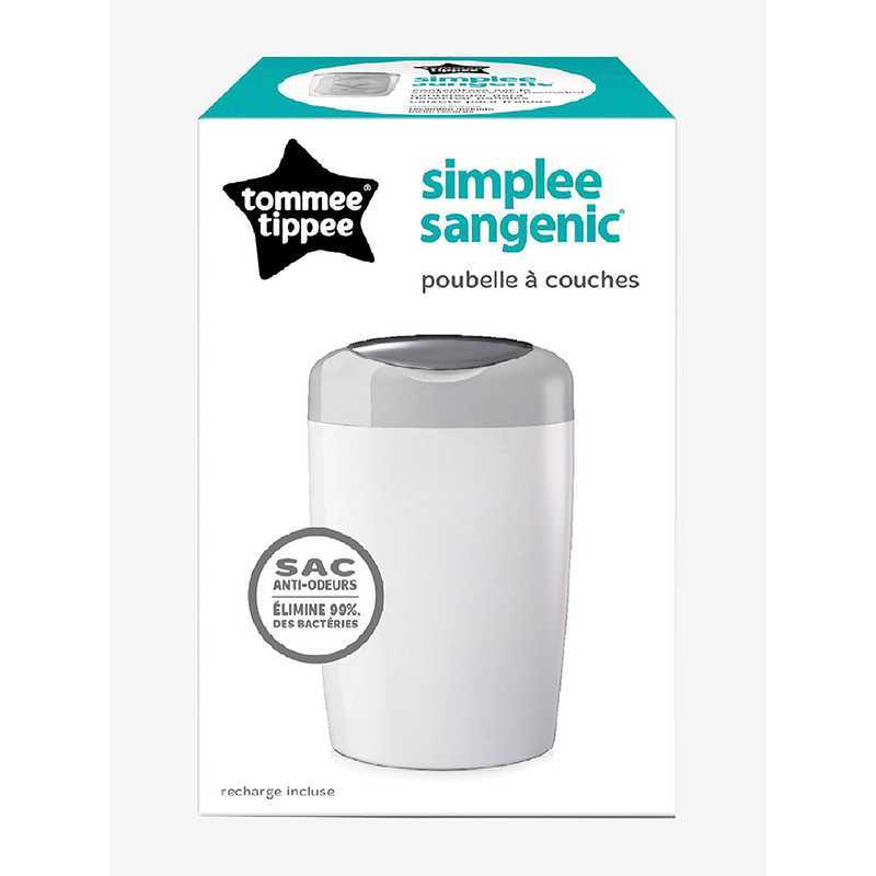 Tommee Tippee Simplee Sangenic Poubelle /à couches gris