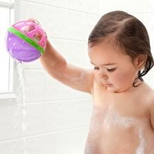 Balle de bain pour bébé Rose Munchkin