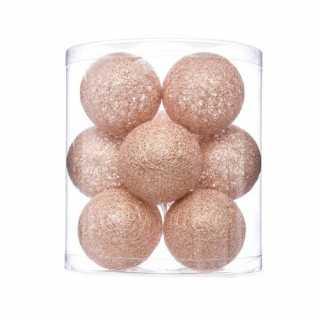 Guirlande lumineuse 10 boules Glitter Atmosphera