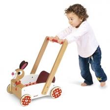 Chariot de Marche en Bois Crazy Rabbit Janod