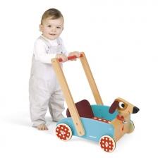 Chariot de Marche en Bois Crazy Doggy Janod