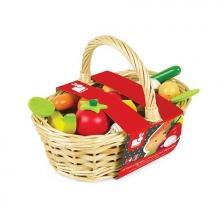 Panier de 24 Fruits Et Légumes Janod