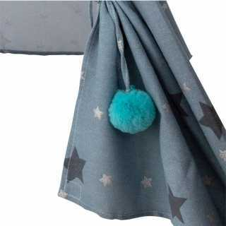 Tipi argent avec son tapis gris Atmosphera for kids