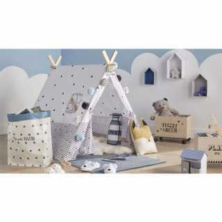 Tente Tipi deco enfant Noir et Blanc Atmosphera for kids