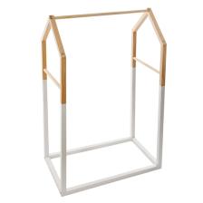 Penderie enfant en bois Forme Maison Blanc Atmosphera
