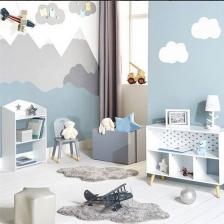 Tapis pour chambre d'enfants Nuage Atmosphera for kids Gris