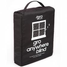 Rideau occultant Gro Anywhere Blind Noir
