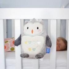 Peluche Aide au sommeil Ollie la Chouette