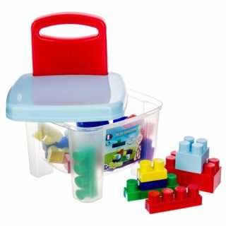 Jeu de construction Chaise avec 25 briques Be Toys