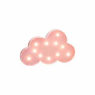 Lampe de décoration Nuage 11 Led Rose Atmosphera for kids