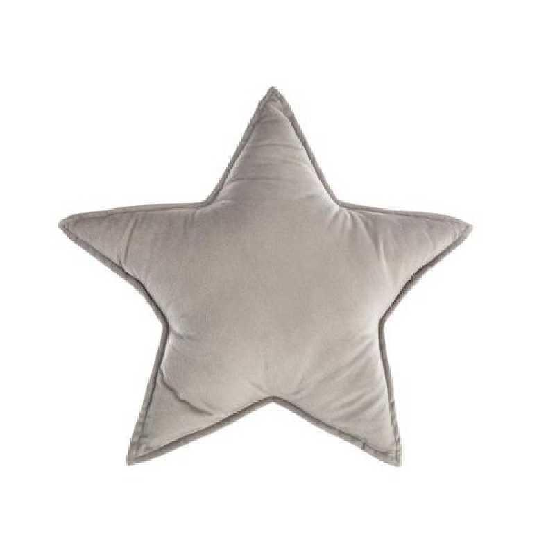 Coussin décoratif étoile gris Atmosphera for kids