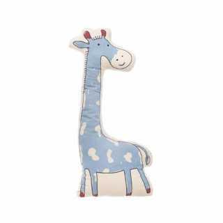Coussin décoratif giraffe bleu Atmosphera