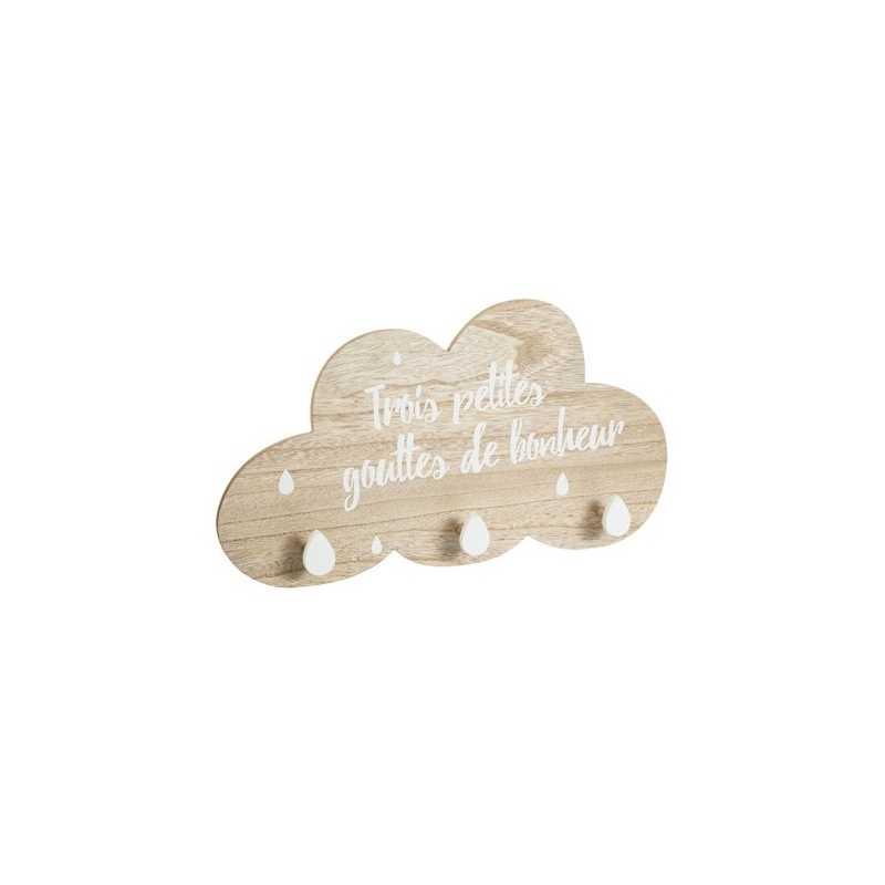 Patère nuage bonheur Atmosphera for kids