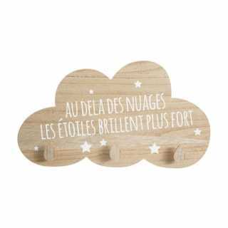 Patère nuage étoiles Atmosphera for kids