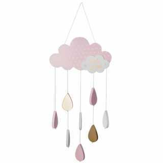 Suspension nuage Rose Atmosphera for kids