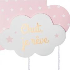 Suspension nuage Rose Atmosphera for kids