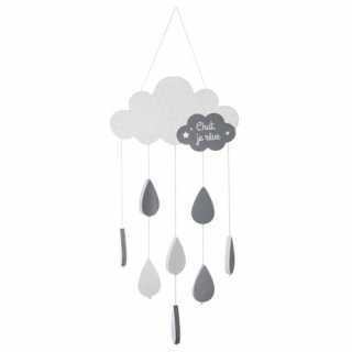 Suspension nuage Gris Atmosphera for kids