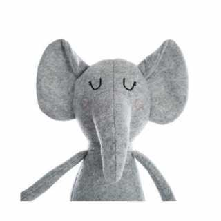 Peluche doudou éléphant gris Atmosphera for kids