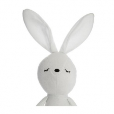 Peluche doudou lapin blanc Atmosphera for kids