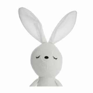 Peluche doudou lapin blanc Atmosphera for kids