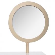 Coiffeuse Petite Reveuse avec miroir Blanc et Doré