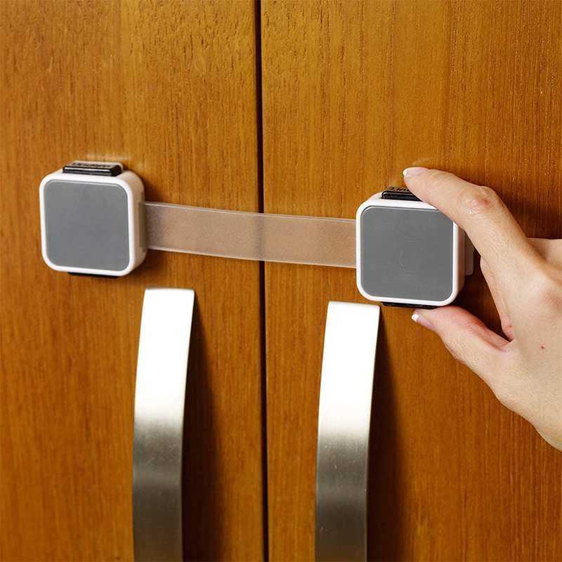 Lot de 4 Verrous Multifonction à Double Fermeture Xtra Guard Lindam