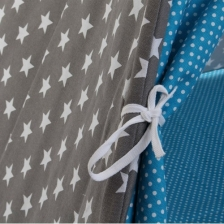 Tipi enfant en coton Toile Bleu Babygloo