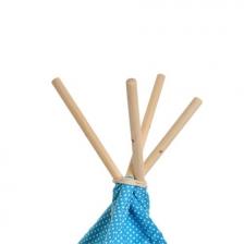 Tipi enfant en coton Toile Nuage Bleu Babygloo