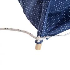 Tipi enfant en coton Tressé Bleu