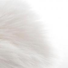 Tapis en fourrure pour enfant 60X90cm - Blanc Atmosphera for kids