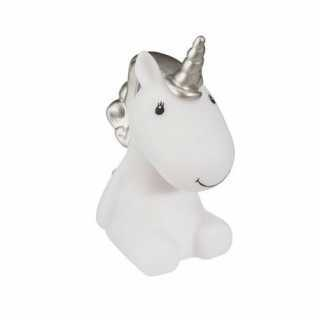 Veilleuse Led Licorne Argenté Atmosphera for kids