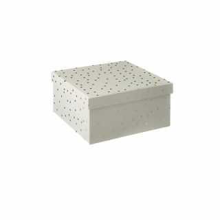 Lot de 3 boîtes de rangement carrées Or Atmosphera for kids