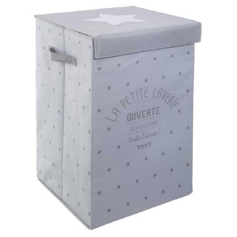 Bac à linge Laverie gris Atmosphera for kids