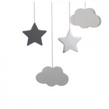 Suspension lune Gris Atmosphera for kids