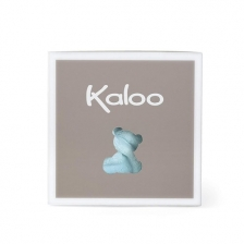 Doudou Lapinou Plume Aqua 20 cm Kaloo