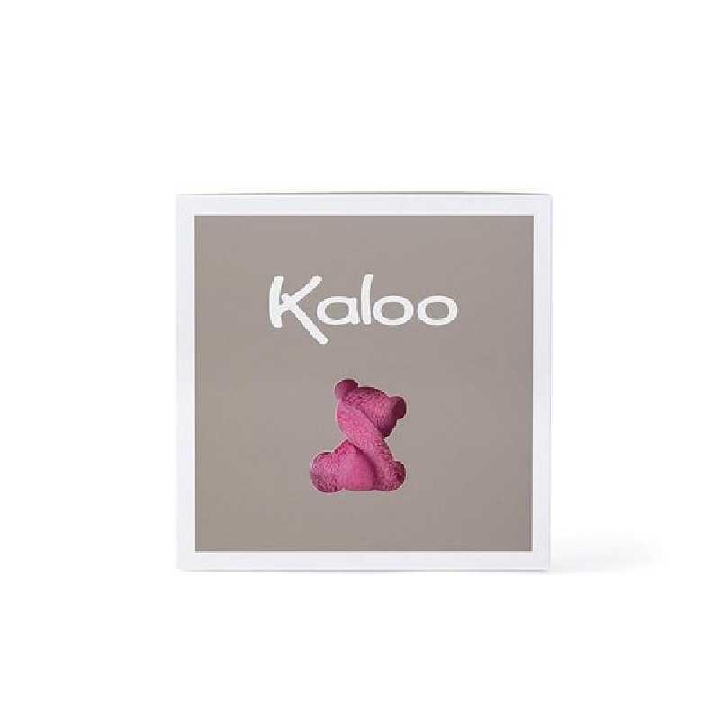 Doudou Lapinou Plume Framboise 20 cm Kaloo
